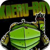 iPad icon: Kaeru-Boy