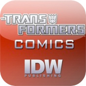 iPad icon: Transformers Comics