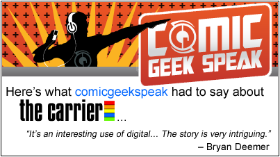 Comic Geek Speak review of The Carrier